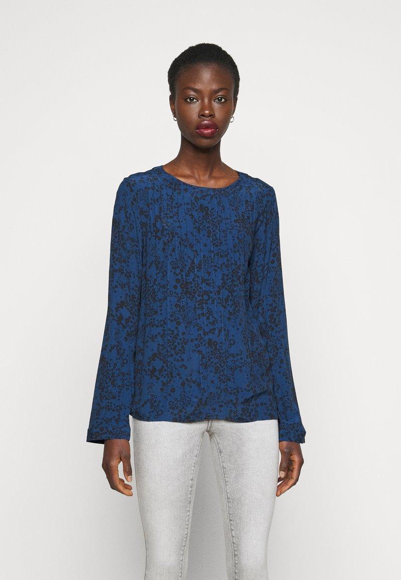 Gap Tall - PINTUCK - Blouse - blue floral
