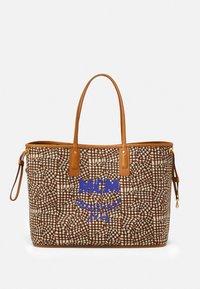 MCM - SHOPPER PROJECT VISETOS SET - Handbag - cognac - 3