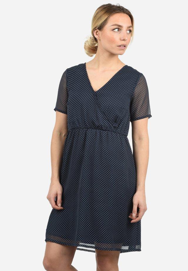 CHARLOTTE - Korte jurk - dark blue/royal blue