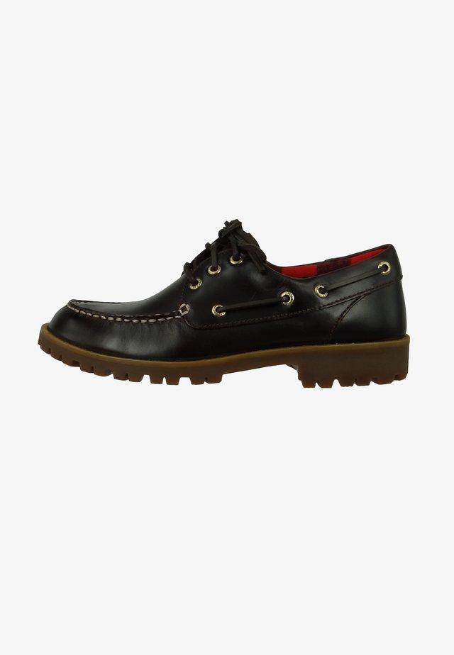 Boat shoes - dark brown