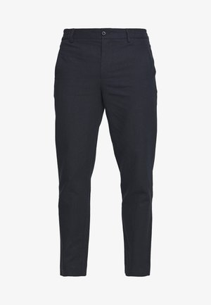 CROPPED PANTS - Trousers - navy