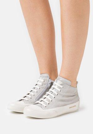 MID - High-top trainers - libra grigio/panna