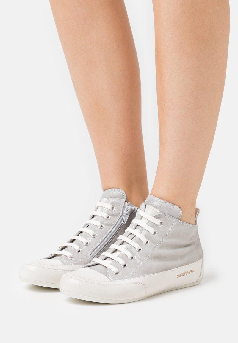 Candice Cooper - MID - Sneakers hoog - libra grigio/panna