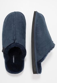 Shepherd - HUGO - Pantuflas - dark navy - 1