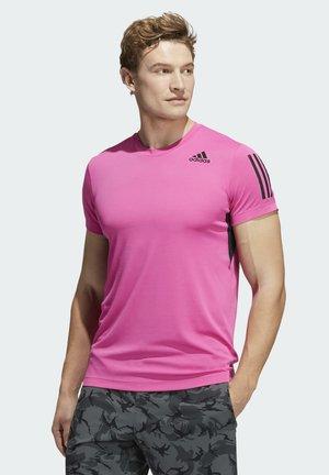 WARRI TEE - T-shirt z nadrukiem - pink