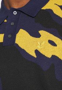 Lyle & Scott - ABSTRACT  - Polo shirt - navy - 5