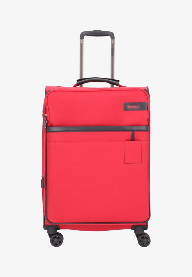 Valise à roulettes - red