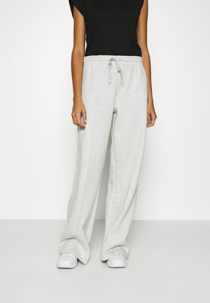 ENWALTER PANTS - Tracksuit bottoms - light grey melange