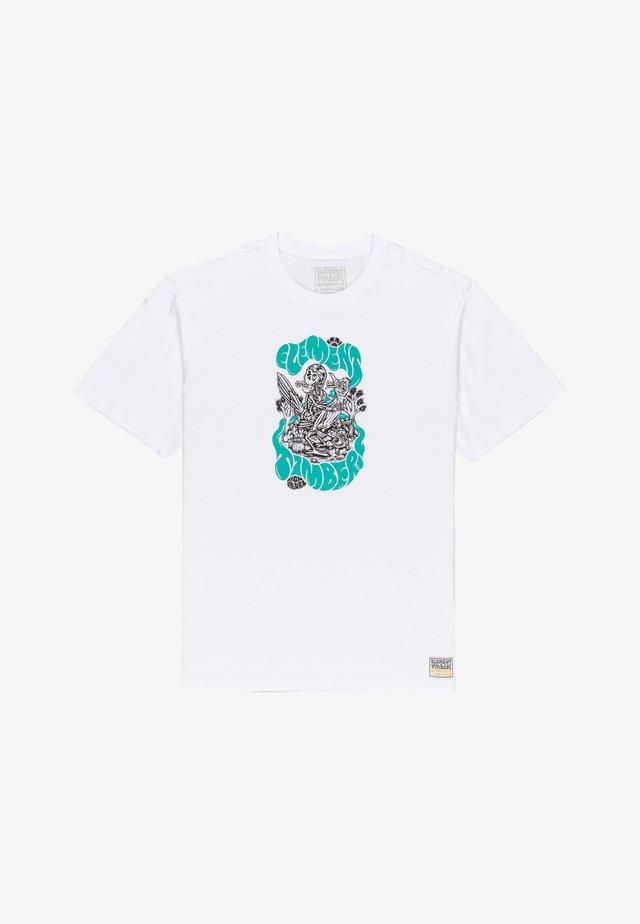 TIMBER THE TRIP - T-shirts print - optic white