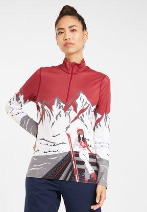 ANYONE - Long sleeved top - bordeaux
