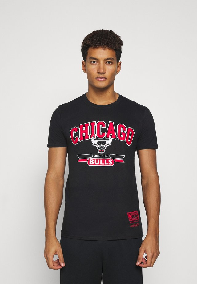 NBA CHICAGO BULLS ARCH LOGO TEE - Squadra - black