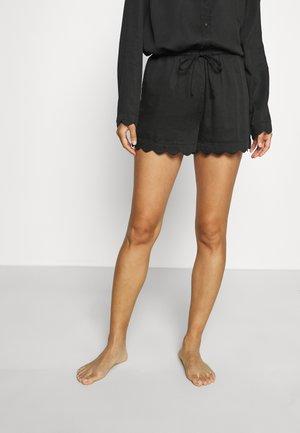 JANE SHORTS - Pyjamabroek - black