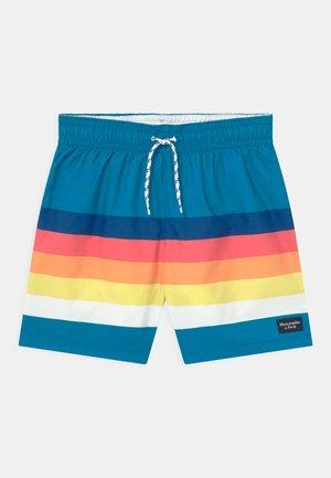 STRIPE - Swimming shorts - blue