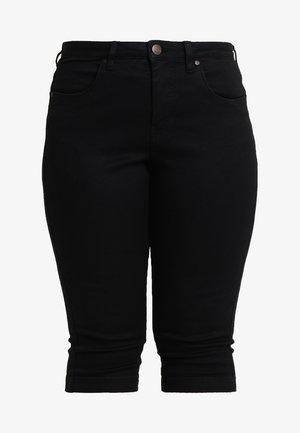 EMILY - Denim shorts - black