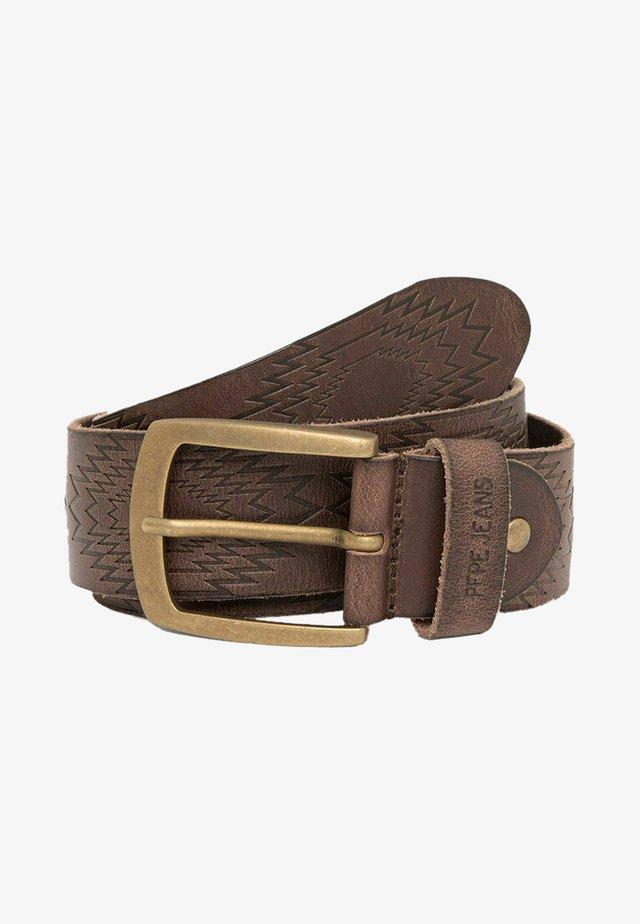 Pásek - marrón