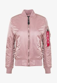 Alpha Industries - Bomber Jacket - silver pink - 6