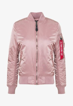 Bomber Jacket - silver pink