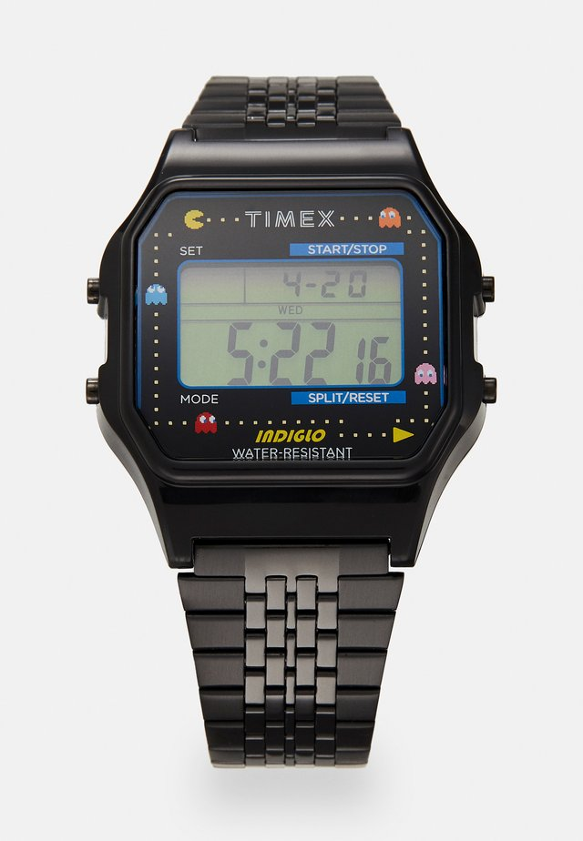 T80 PAC MAN UNISEX - Digitaluhr - black