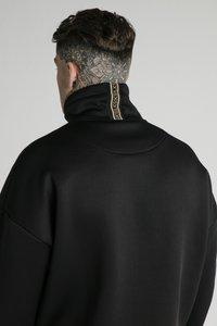 SIKSILK - ELEMENT QUARTER ZIP HOODIE - Felpa - black/gold - 3