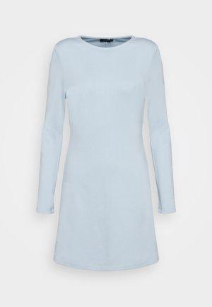 Žerzejové šaty - celestial blue