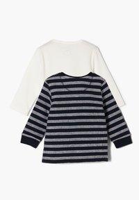 s.Oliver - PACK - Long sleeved top - black/white - 1