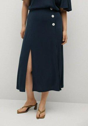 A-line skirt - dunkles marineblau
