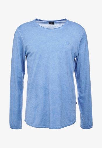 CARLOS - Long sleeved top - blau