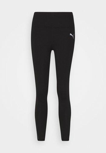EVOSTRIPE HIGH WAIST - Leggings - black
