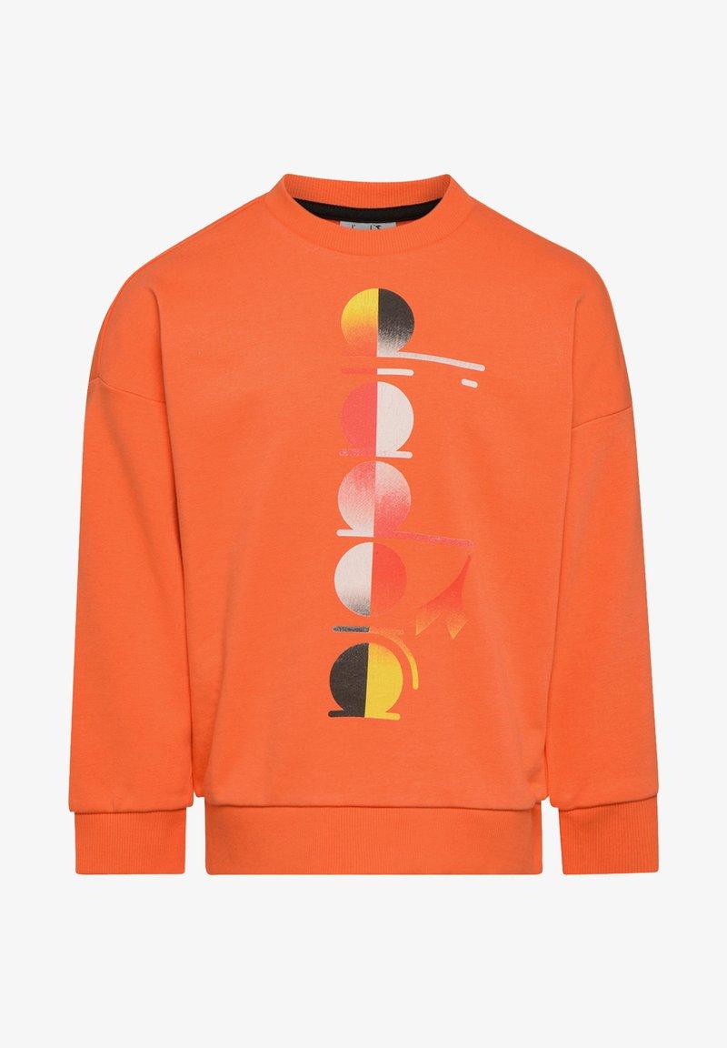 Diadora - CREW CLUB UNISEX - Sweatshirt - orange nasturtium