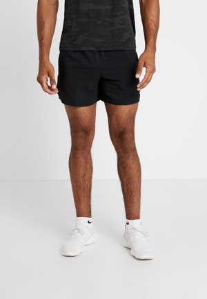 M NK FLEX STRIDE SHORT 5IN BF - Sports shorts - black/silver