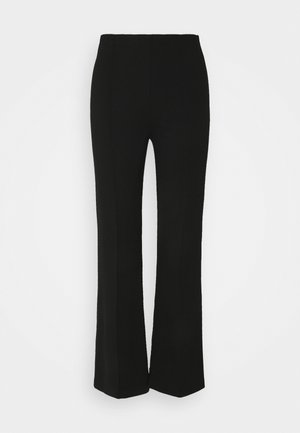 MALHIA WIDE - Kalhoty - black