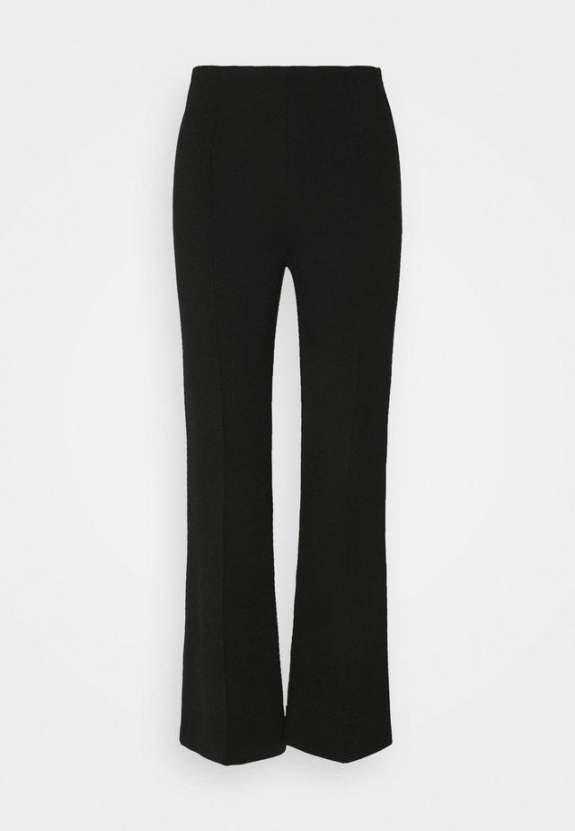 MALHIA WIDE - Trousers - black