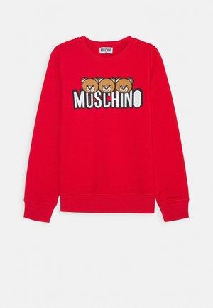 Sweatshirts - poppy red