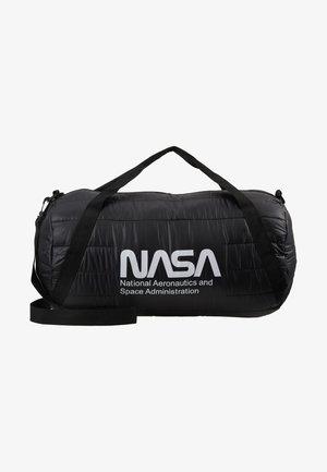NASA PUFFER DUFFLE BAG - Holdall - black