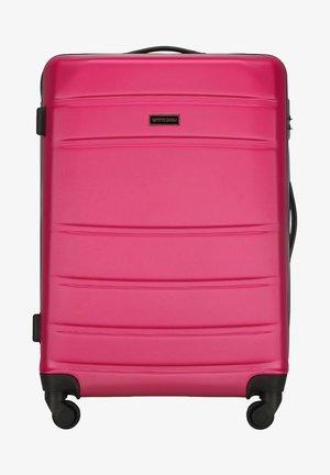 GLOBE LINE - Wheeled suitcase - rosa