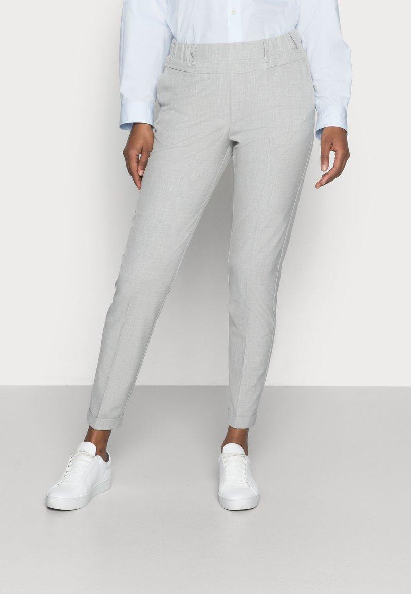Kaffe - NANCI JILLIAN PANT - Trousers - light grey melange