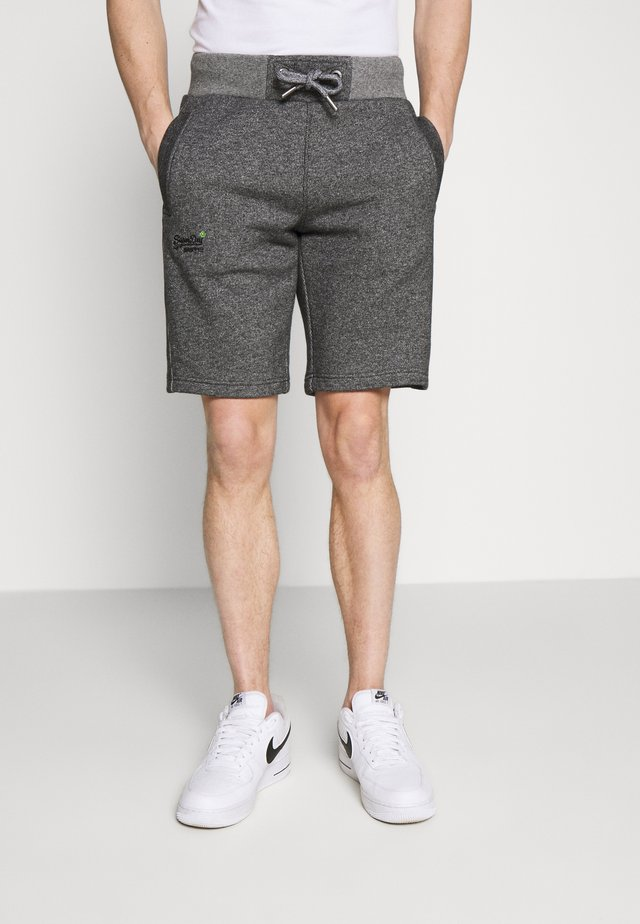 ORANGE LABEL CLASSIC SHORT - Shorts - mid grey texture