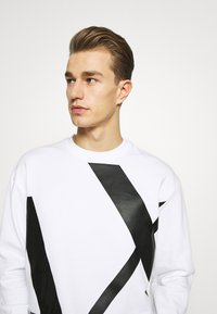 Armani Exchange - Sweatshirt - white - 3