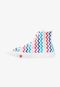 Converse - CHUCK TAYLOR ALL STAR - Baskets montantes - white/university red/peony pink - 1