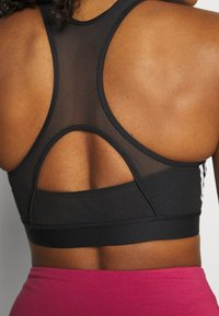 adidas Performance - BRA - Medium support sports bra - black/white - 2