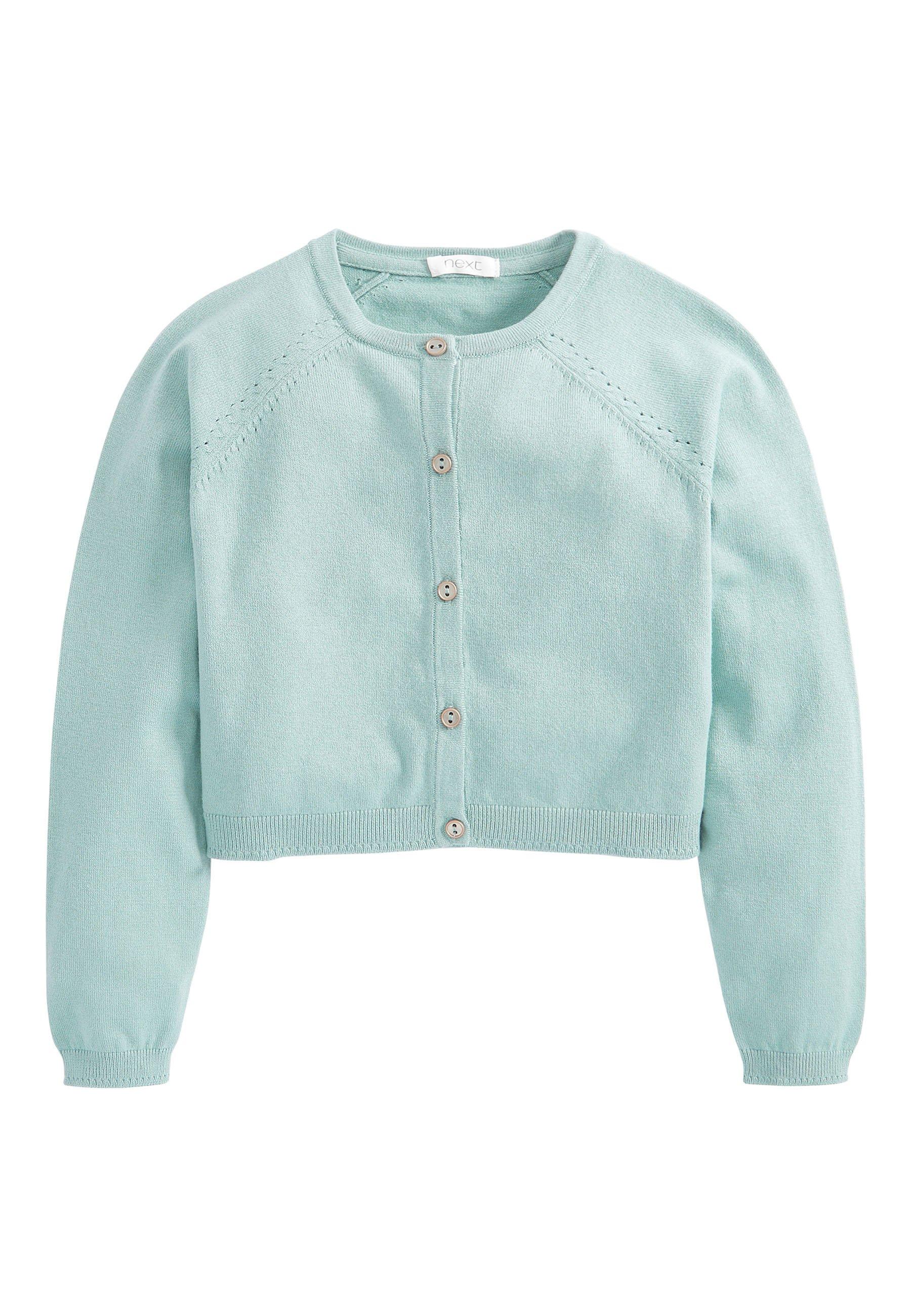 Große Förderung Next SAGE CROPPED CARDIGAN (3-16YRS) - Strickjacke - green   Damenbekleidung 2020