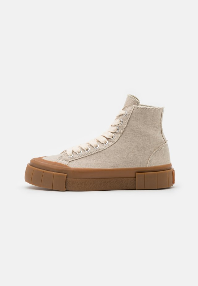 PALM UNISEX - High-top trainers - beige