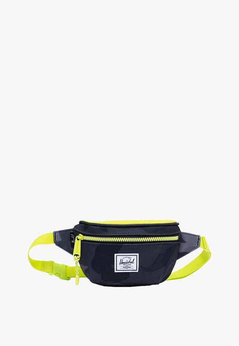 Herschel - TWELVE - Bum bag - night camo/lime punch