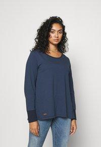 Ragwear Plus - MALINA - Long sleeved top - navy - 0