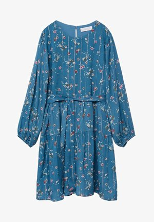 Korte jurk - blau