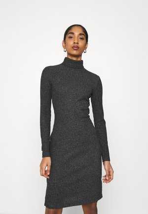 Shift dress - mottled anthracite