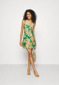 Farm Rio - RAINING BANANAS MINI DRESS - Day dress - multi - 1