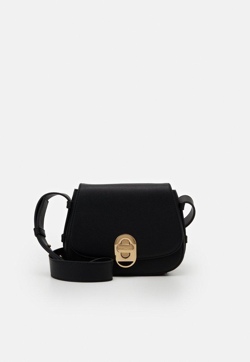 Trussardi - BOSTON CROSSBODY - Across body bag - black
