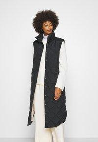 Freequent - OLGA - Waistcoat - black - 3