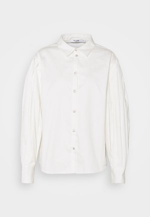 PLEATED SLEEVE - Blouse - white